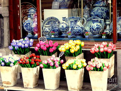 Photograph - Delft Floral Store by John Potts