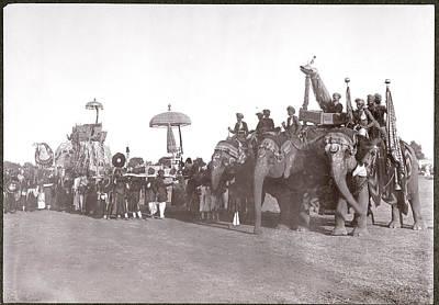 Deen Photograph - Delhi Durbar by British Library