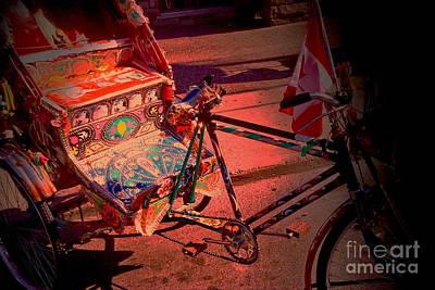 Zeni Shariff Photograph - Delhi Rickshaw by Zeni Shariff