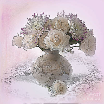 Delicacy Print by Betty LaRue