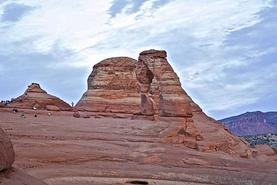 Photograph - Delicate Arch 1 Utah by SC Heffner