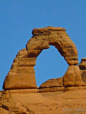 Photograph - Delicate Arch by George Tuffy