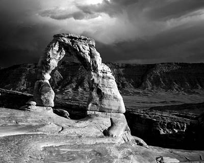 Photograph - Delicate Arch IIi by Jeff Burton