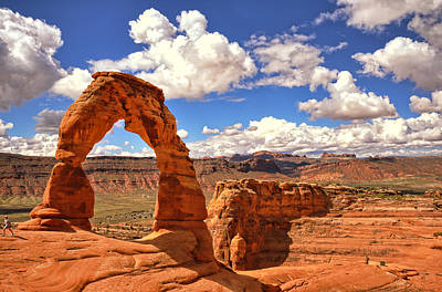 Photograph - Delicate Arch - Arches National Park - Moab, Utah by Kevin Pate