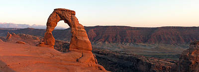 Photograph - Delicate Arch Panorama by Nicholas Blackwell