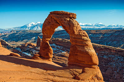 Delicate Arch Art Print by Peter Irwindale