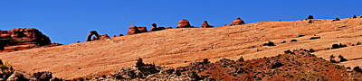 Photograph - Delicate Arch Ridge by Michael Courtney