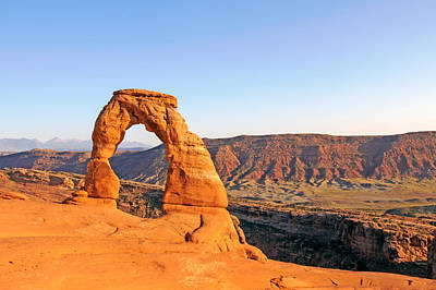 Photograph - Delicate Arch Sunset 1 by Nicholas Blackwell