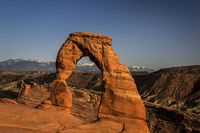 Delicate Arch Sunset Art Print