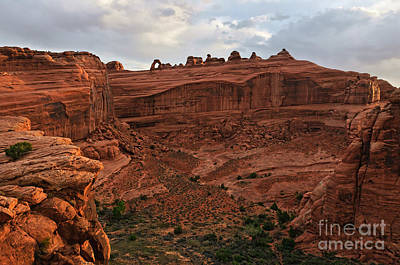 Photograph - Delicate Arch Valley II by Sharon Seaward