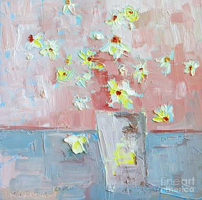 Painting - Delicate Daisies by Patricia Awapara