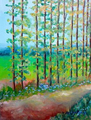 Longwood Gardens Painting - Delicate Grove by Marita McVeigh