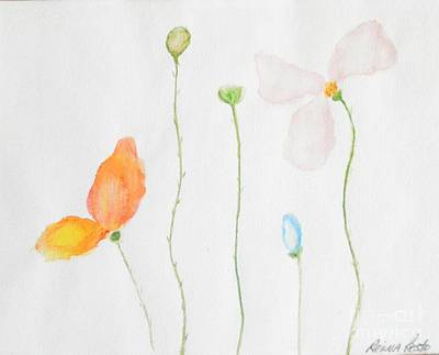 Painting - Delicate  by Reina Resto