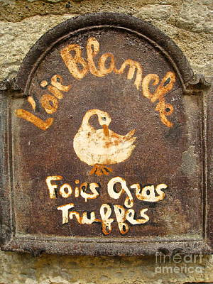 Photograph - Delicatesse De Sarlat by Suzanne Oesterling