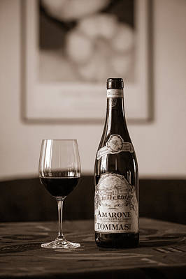 Delicious Amarone Art Print by Ari Salmela