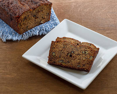 Photograph - Delicious Banana Bread by Kim Hojnacki