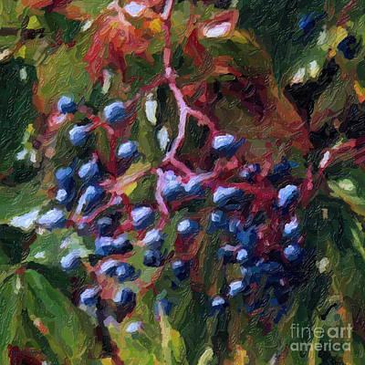 Delicious Berries Art Print by Gerlinde Keating - Galleria GK Keating Associates Inc