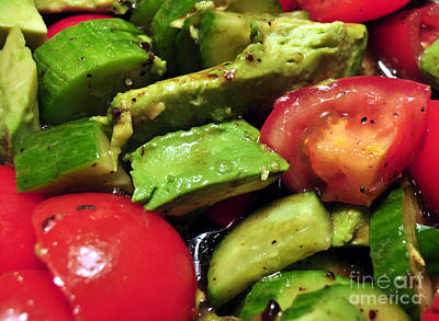 Photograph - Delicious Organic Salad by Staci Bigelow