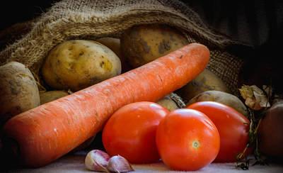 Photograph - Delicious Vegetables   by Yvon van der Wijk