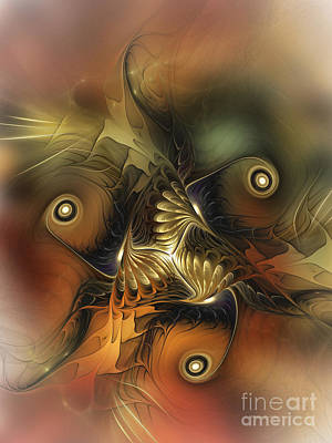 Digital Art - Delightful Awakening-abstract Art by Karin Kuhlmann