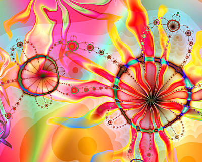Digital Art - Delightful Day by Kiki Art