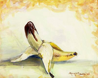 Painting - Delightfully Delectable 1 Banana by Shana Rowe Jackson