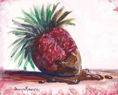 Painting - Delightfully Delectable 2 Strawberry by Shana Rowe Jackson