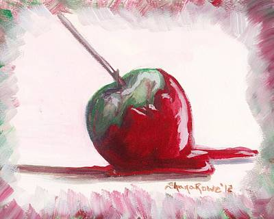 Painting - Delightfully Delectable 4 Candy Apple by Shana Rowe Jackson