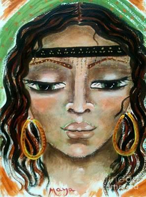 Delilah Art Print by Maya Telford
