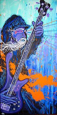 Delirious Funk Priest Art Print