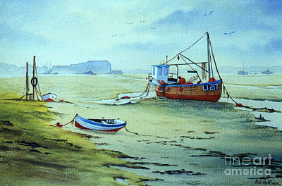 Painting - Dell Quay Chichester England by Bill Holkham
