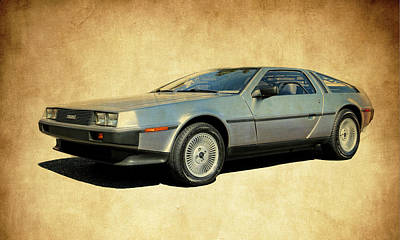 Delorean  Art Print by Steve McKinzie