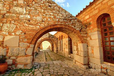 Photograph - Delphi Monasteraki Greece 5 by Deborah Smolinske