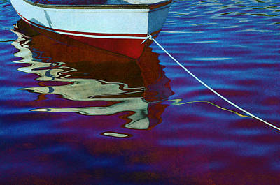 Abstract Reflection Photograph - Delphin by Laura Fasulo