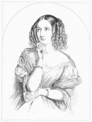 Painting - Delphine Gay De Girardin (1804-1855) by Granger