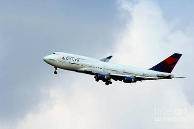 Photograph - Delta Airlines by Doc Braham
