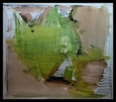 Painting - Delta Delta by John L Campbell
