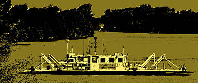 Photograph - Delta Ferry Crossing by Joseph Coulombe