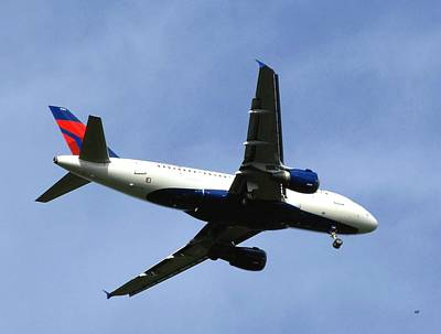 Photograph - Delta Flight 2 by Will Borden