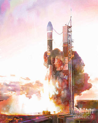 Delta Launch Art Print