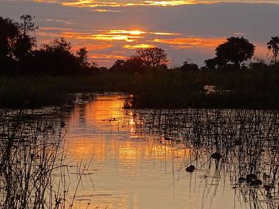Photograph - Delta Sunset by Bruce W Krucke