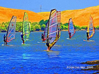 Delta Water Wings Art Print