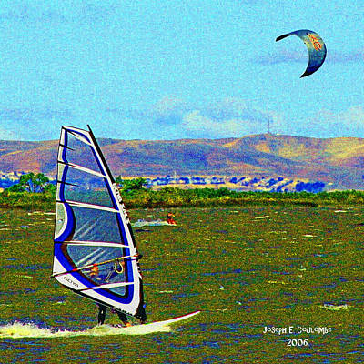 California Er Photograph - Delta Winds by Joseph Coulombe
