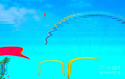 Photograph - Hang-glider - Deltaplane - Island Reunion-indian Ocean by Francoise Leandre