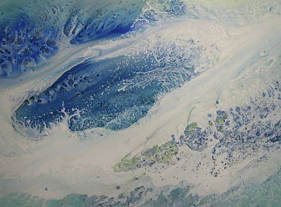 Wall Art - Painting - Deluge by Debra LePage