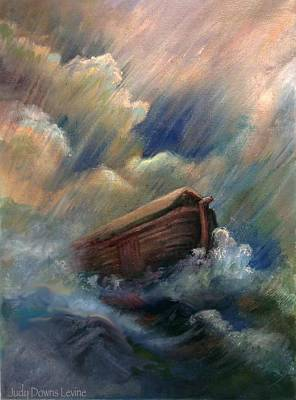 Deluge Art Print by Judy Downs