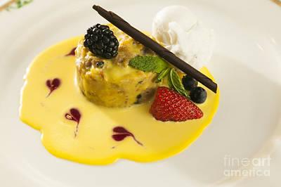 Audrey Hepburn - Deluxe strawberry dessert by Don Landwehrle