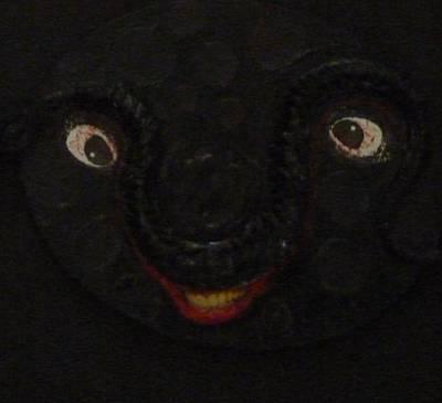 Creepy Mixed Media - Dark Smile by Douglas Fromm