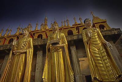 Adults Only Photograph - Den Chai Thailand Wat by David Longstreath