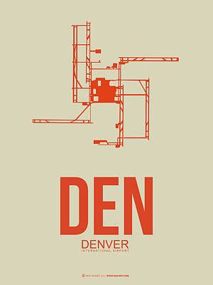 Den Denver Airport Poster 2 Art Print